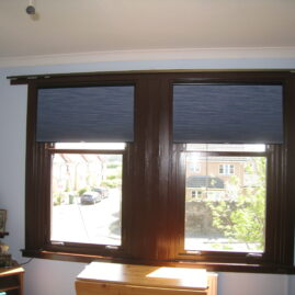 Cordless Literise pleated blinds
