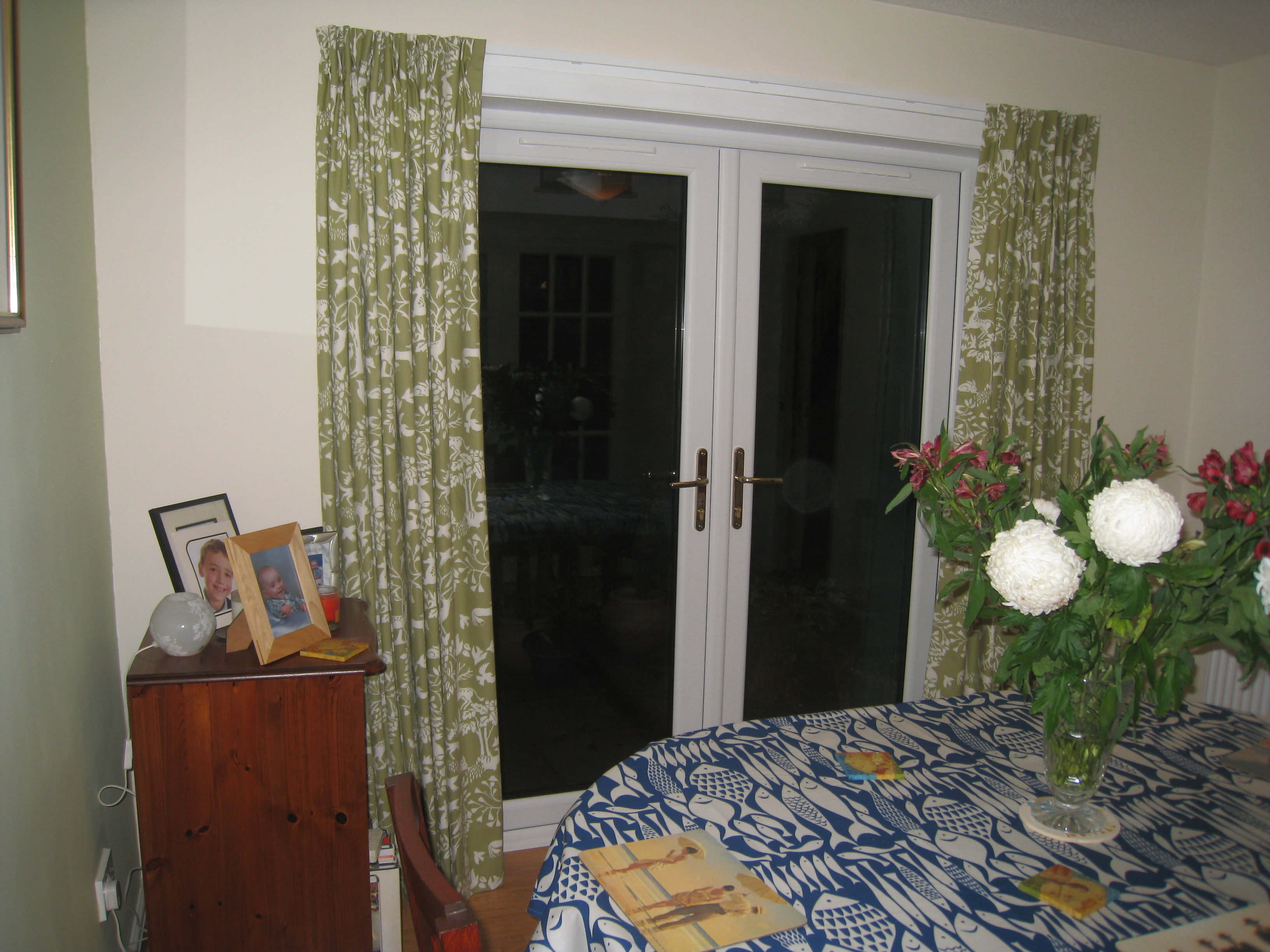 double pleat curtains for patio doors ines interiors