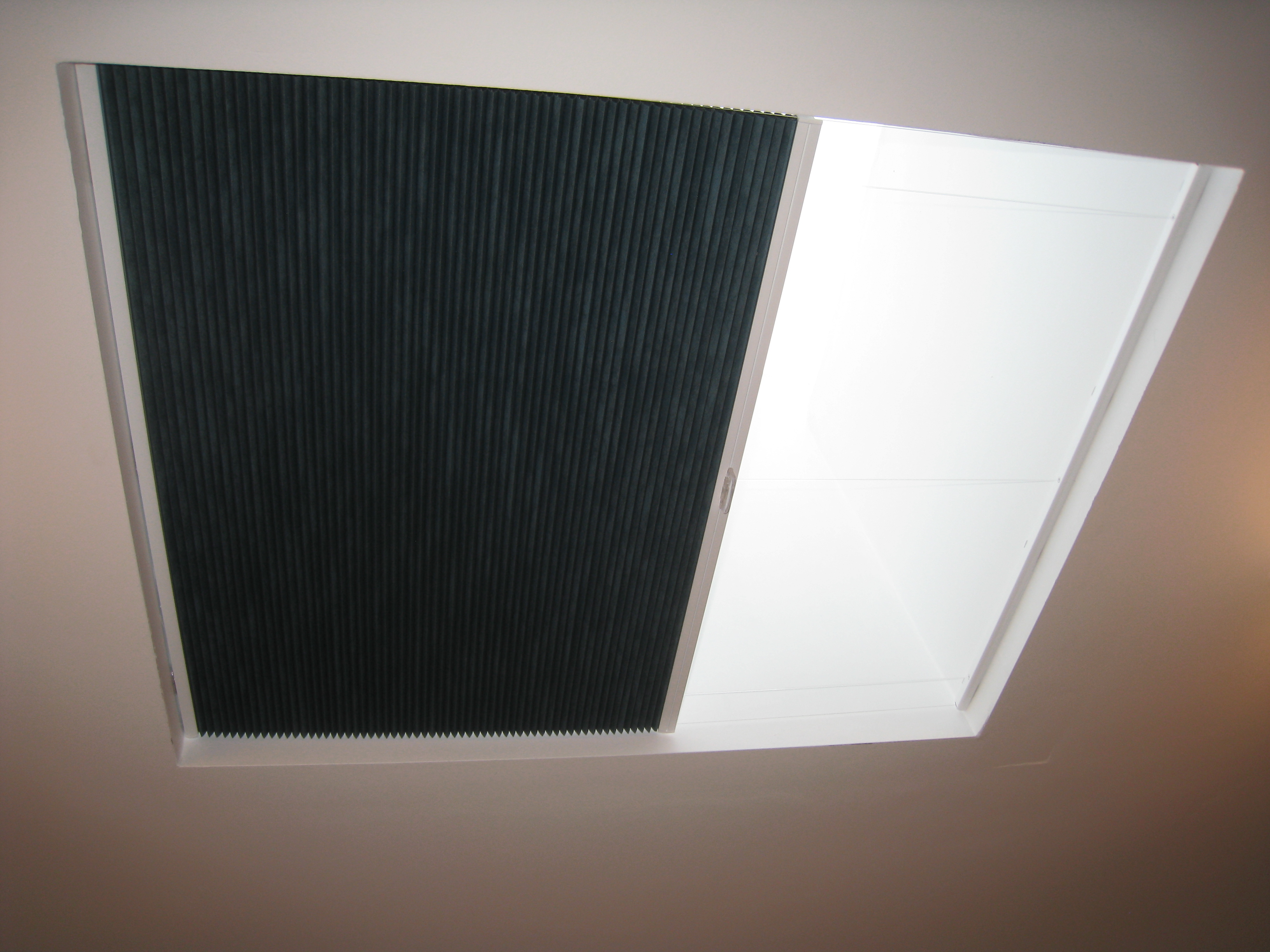 Duette Blackout Pleated Blinds For Skylight And Window
