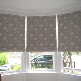 More Roman Blinds …
