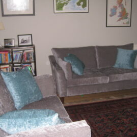 Custom made sofas and cushions