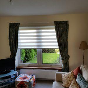 duo roller blinds, Liberton, Edinburgh