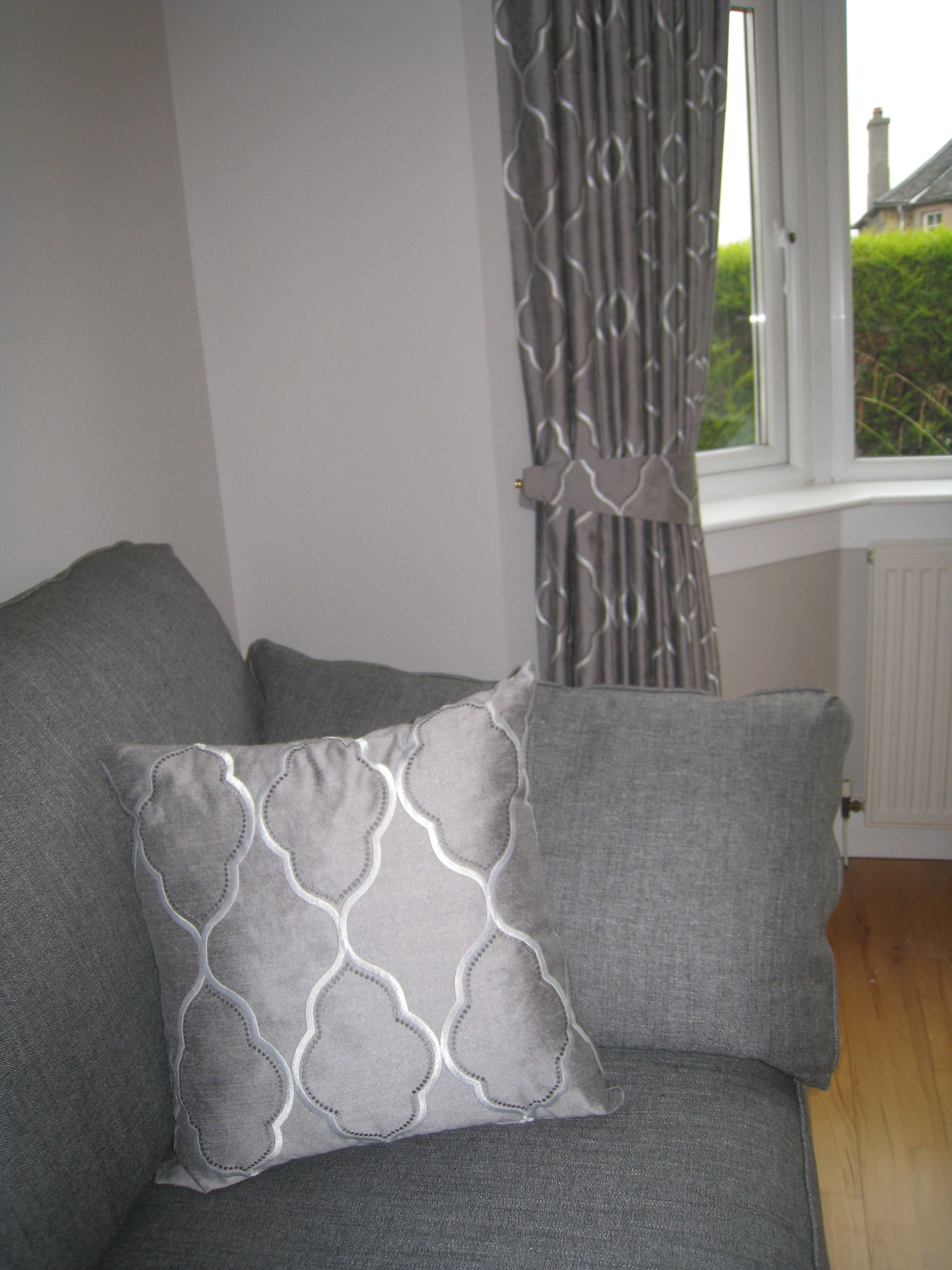 Rails Curtains And Matching Cushions Ines Interiors