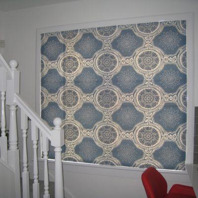 Roman blinds, North Edinburgh