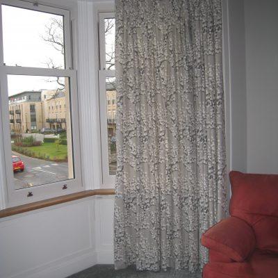 Made to measure curtains, Trinity, Edinburgh
