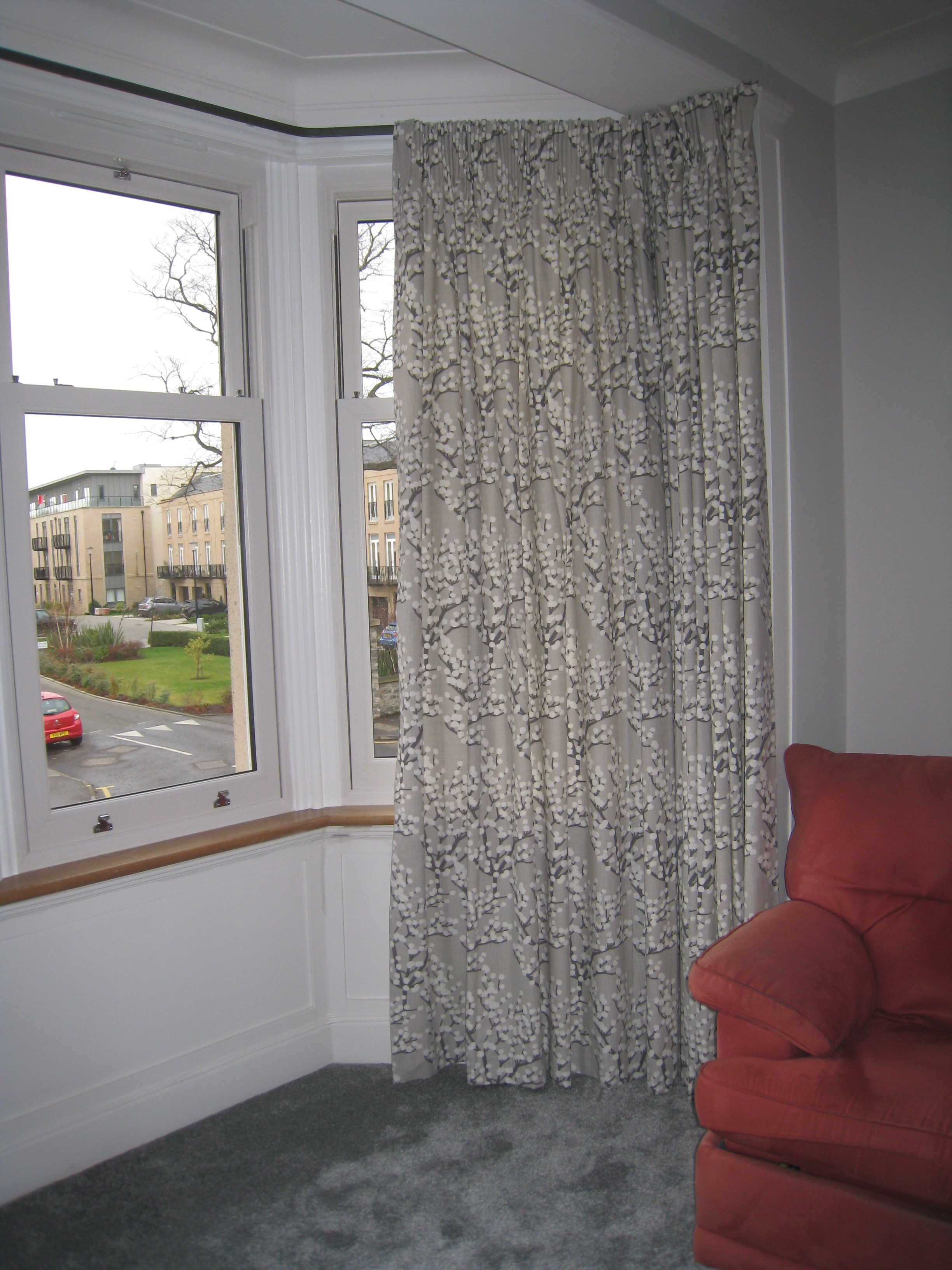 Roman Blinds And Curtains For A Family Home In Trinity