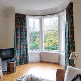 Bay window in Merchiston, Edinburgh