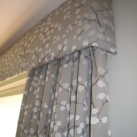 curtains, pelmets and blind for lounge/diner in Balerno, Edinburgh