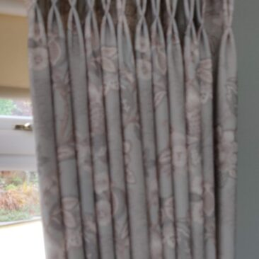 curtains and poles for a living room in Craiglockhart
